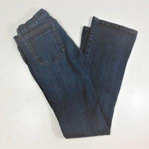 Refuge Boot Cut Low Rise Dark Wash Jeans - 5 Long